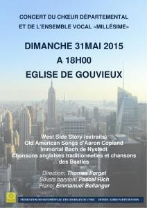 Affiche Concert Gouvieux