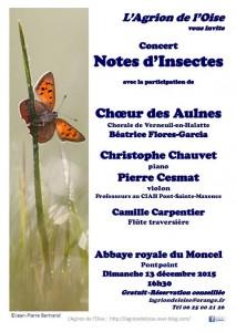 Affiche Concert Moncel 152x214