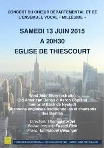 Affiche Concert Thiescourt