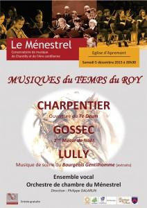 Affiche concert Apremont