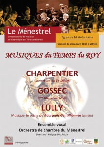Affiche concert Mortefontaine