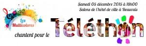 Annonce Téléthon Multicolores