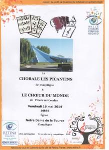 Concert Rétina 16 mai 2014