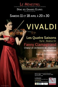 Concerts  Vivaldi 11 et 18 avril 2015