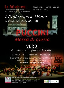 PUCCINI FLYERS 10x14