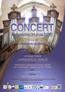 affiche concert 31 05 15