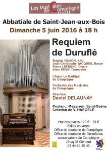 affiche requiem Madrigal